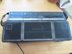 Vintage Magnavox D8300 Dual Deck Stereo radiomagnetofon Ghetto Blaster Boombox | eBay