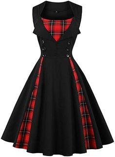 Find Rockabilly dresses, swing dresses & clothing for sale online. Rockabilly clothing, shoes, tops and bottoms. Plus size rockabilly dresses too. Robes Vintage, Vintage Dresses 50s, Retro Dress, 1950s Dresses, Vestidos Rockabilly, Vestidos Retro, Rockabilly Dresses, Rockabilly Clothing, Plus Size Rockabilly