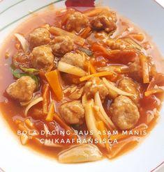 Resep ayam asam manis © 2020 Instagram/@maybelin_ma ; Instagram/@mrs.wijaya Japchae, Food And Drink, Ethnic Recipes, Instagram