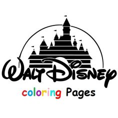1000 images about disney coloring pages on pinterest for Disney castle coloring pages