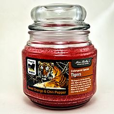 Tigers 16oz Jar