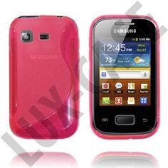 Pink Samsung Galaxy Pocket Cover