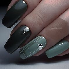 60 Lovely Summer Nail Art Designs - Gravetics Look at the summer nail art design photos, choose the best idea for yourself and embody it boldly! Best option summer nail designs 2018 and 2018 nail art designs. Nails Polish, My Nails, Hair And Nails, Autumn Nails, Winter Nails, Stylish Nails, Trendy Nails, Nail Art Designs, Nails Design