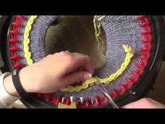 Addi Express Kingsize Knitting Machine - flat knitting - YouTube
