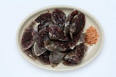 Korean food - 순대 (Soondae)