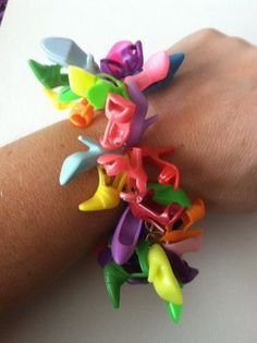 BARBIE SHOE BRACELET: This is just insane enough to be AWESOME ^_^