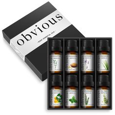 Purchase Aromatherapy 8 Essential Oil Set Pure Therapeutic Gift Sampler Kit Oils from Expressive Shops on OpenSky. Essential Oil Pack, Colored Glass Bottles, Nail Oil, Sinus Congestion, Therapeutic Grade Essential Oils, Carrier Oils, Tea Tree, Decoration, Peppermint