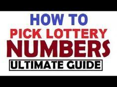 How to win the Lottery Jackpot - Winning the lotto for all Country and S. Pick 3 Lottery, Play Lottery, Lotto Lottery, Lottery Strategy, Lottery Tips, Lottery Tickets, How To Win Lottery, Lottery Book, Picking Lottery Numbers