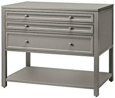 Martha Stewart Living™ Craft Space Three Drawer Flat File Cabinet