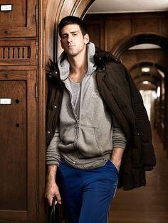 """Great Balls of Fire."" Novak Djokovic."