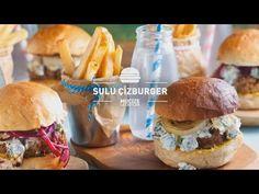 Efsane Hamburgerin  Efsane Ekmeği   Burak'ın Ekmek Teknesi - YouTube Hamburger, Ethnic Recipes, Youtube, Food, Eten, Hamburgers, Meals, Loose Meat Sandwiches, Diet