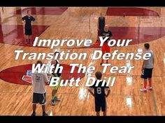 Improve Your Transition Defense With The Tear Butt Drill - YouTube