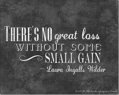 Laura Ingalls Wilder Quote Art
