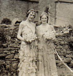 bridesmaids circa 1932
