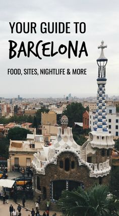 Visiting Barcelona and don't know where to go? Check out my guide on my favorite places to eat, best places to see, and even a few tips on nightlife!