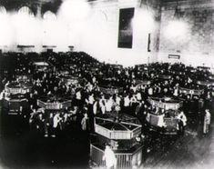 Nueva York en el 1930 después de la caida de la bolsa en el 29