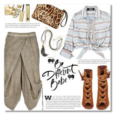 """""""Be different baby"""" by dolly-valkyrie ❤ liked on Polyvore featuring Lumen et Umbra, Gianvito Rossi, Kate Spade, Wish by Amanda Rose and Kilian"""