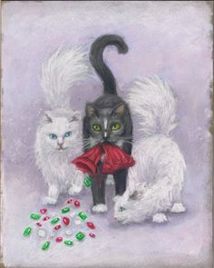 "Featured Artwork: ""The Colony Cat Caper"" Book Cover"