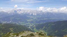 Blick zum Dachstein Gebirge