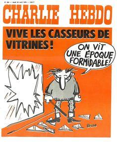 Charlie Hebdo - # 284 - 22 Avril 1976 - Couverture : Reiser