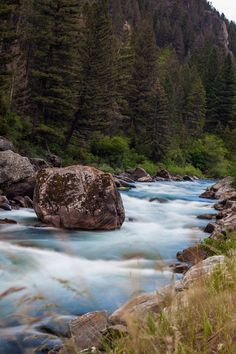 river near Bozeman, Montana....LOVE MT! Wish I could move there.