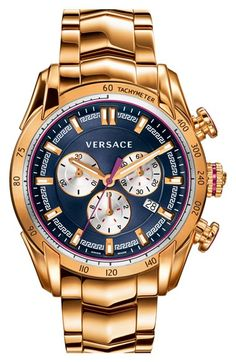 Versace+'V-Ray'+Chronograph+Bracelet+Watch,+44mm+available+at+#Nordstrom