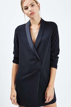 990b337e6266e2 Soft Tailored Blazer Dress - Jackets   Coats - Clothing