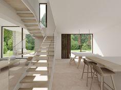 Salón de diseño de una casa en el Mediterráneo