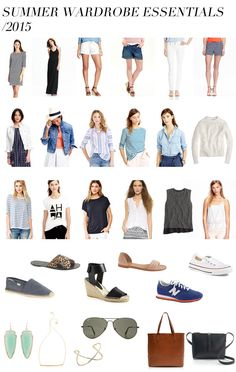 Summer wardrobe essentials/2015