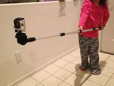 DIY $ 12 Go Pole GoPro Pole Telescopic. #instructables #diy