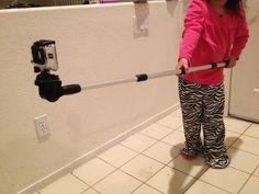 DIY $ 12 Go Pole GoPro Pole Telescopic. #instructables #diy