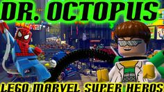 LEGO Marvel Super Heros PS4 - Battle Dr. Octopus - Road to Unlock Every ...