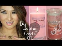 ▶ How to Make Soy Candles| Diamond Candle Inspired| Monogram Necklace Giveaway Closed - YouTube