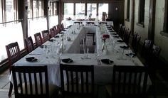 Benmiller Inn & Spa's award winning Ivey Dining Room is the perfect choice of banquet halls for your next gala, awards, holiday or celebration dinner. Family Holiday, Banquet, Holiday Parties, Dining Room, Spaces, Furniture, Home Decor, Interior Design, Dining Room Sets