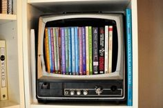 Tv book storage