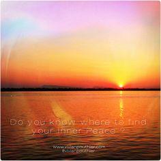 Do you know where to find your Inner Peace ? | Savez-vous où trouver votre Paix Intérieure ?
