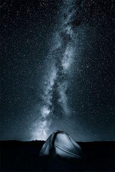 Sleeping under the Milkyway