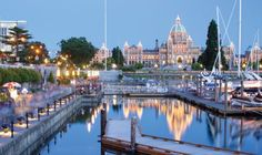 Explore the sights and attractions of Victoria on your garden tour of Canada.