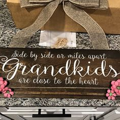 Grandkids Long Distance Gift Grandmother Gift Grandchildren   Etsy Photo Display Board, Photo Displays, Christmas Gifts For Grandma, Homemade Christmas Gifts, Grandmother Gifts, Grandpa Gifts, Wood Picture Frames, Picture On Wood, Grandkids Sign