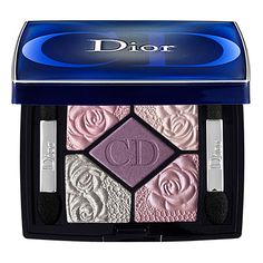 Dior - garden edition couture colour eyeshadow palette is too pretty to use with rose-embossed colors... #SephoraColorWash