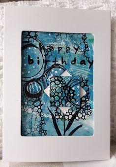 Fasters korthus: Birthday card