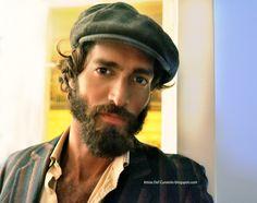 Mens Fashion: Bohemian Style Hipster Style- maximiliano patina Pinterest:@keraavlon