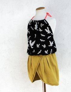 Kids Clothes Week Day 3 - Skirt & Top