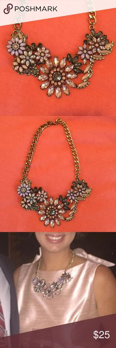 Jeweled Statement Necklace  Gorgeous statement necklace- adjustable length! Jewelry Necklaces