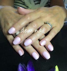 Pink short nail