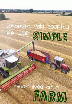 True story, farming life, country life, farm girl