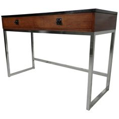 $1500 Horseman Vintage Danish Modern Console Table By Torbjorn Afdal