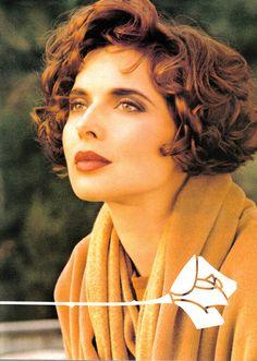 Isabella Rossellini for Lancome, circa 1992