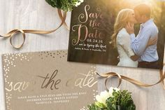 Save the Dates might seem like an incidental when it comes to planning an entire wedding, but as the first impression your guests will have of your big day, it's so worth putting a little thought and creativity into them. #memorymakersdj #savethedate
