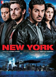 New York - John Abraham, Katrina Kaif, Neil Mukesh, İrrfan Khan Movies 2019, Hd Movies, Movie Tv, Movies Free, Watch Movies, Michael Delorenzo, New York Movie, Kabir Khan, Hindi Movies Online